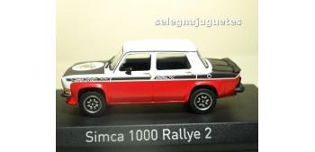 Simca 1000 Rallye 2 SRT 1977 Tacoma White & Red escala 1/43