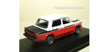 Simca 1000 Rallye 2 SRT 1977 Tacoma White & Red escala 1/43