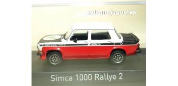 coche miniatura Simca 1000 Rallye 2 SRT 1977 Tacoma White & Red