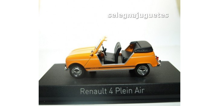 Renault 4 Plein Air 1968 orange escala 1/43 Norev Norev
