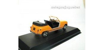 Renault 4 Plein Air 1968 orange escala 1/43 Norev