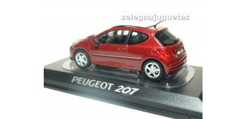 coche miniatura Peugeot 207 2009 Erythree Red escala 1/43 Norev