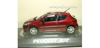 Peugeot 207 2009 Erythree Red escala 1/43 Norev