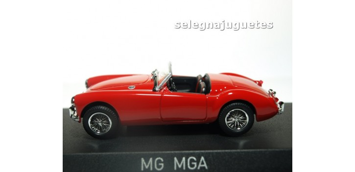 MG MGA Roadster 1956 Orient Red escala 1/43 Norev
