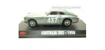 CISITALIA 202 1950 1/43 HACHETTE COCHE ESCALA