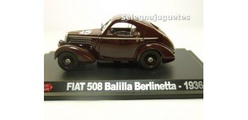 Fiat 508 Balilla Berlinetta 1936 escala 1/43 Hachette coche escala miniatura Hachette