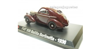 Fiat 508 Balilla Berlinetta 1936 escala 1/43 Hachette coche escala miniatura