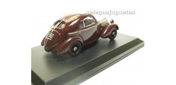 Fiat 508 Balilla Berlinetta 1936 escala 1/43 Hachette coche