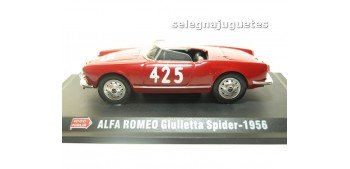 Alfa Romeo Giulietta Spider 1956 1/43 Hachette coche escala miniatura