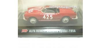 coche miniatura Alfa Romeo Giulietta Spider 1956 1/43 Hachette