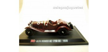 Alfa Romeo 6C 1750 GS 1930 1/43 Hachette coche escala miniatura metal Hachette