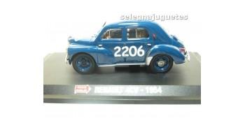 RENAULT 4CV 1954 1/43 HACHETTE COCHE ESCALA