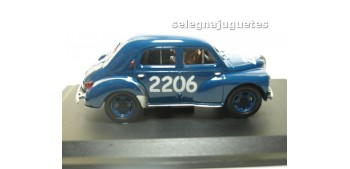 Renault 4CV 1954 escala 1/43 Hachette coche metal miniatura