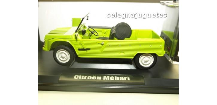 Citroen Méhari 1983 Tibesti Green escala 1/18 Norev