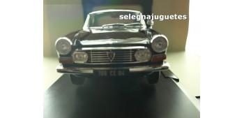 coche miniatura Peugeot 404 Coupé 1967 Black escala 1/18 Norev