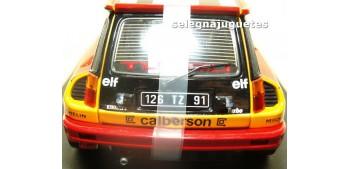 coche miniatura Renault 5 Turbo nº 1980 Calberson escala 1/18