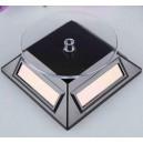 <p>Modelo:<strong>Peana Expositora solar de plástico para varias escalas - Color Negro</strong></p>