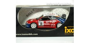 Citroen Xsara Rally Alemania año 2003 Loeb y Elena escala 1/43 Ixo