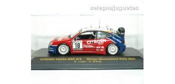 coche miniatura Citroen Xsara Rally Alemania año 2003 Loeb y