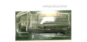 Camión ruso de transporte tubos escala por determinar