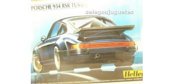 maqueta coches Posche 934 RS Turbo escala 1/24 Heller maqueta