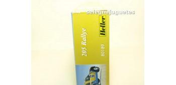 Peugeot 205 Rallye maqueta montar escala 1/43 Heller coche miniatura