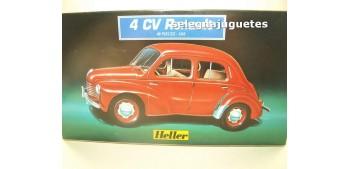 Renault 4 CV escala 1/43 Heller maqueta para montar