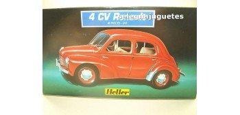 Renault 4 CV escala 1/43 Heller maqueta para montar Heller
