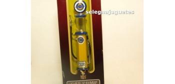 maquetas de coches Surtidor Gasolina Chevrolet amarillo escala