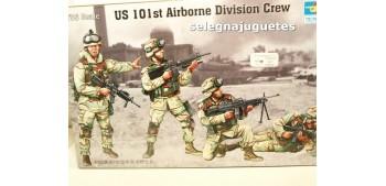 Us 101 st Airbone Division Crew escala 1/35 Trumpeter