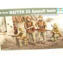 <p>Modelo:<strong>Waffen SS Asault team</strong></p> <p>Escala: <strong>1/35 - 1:35</strong></p> <p>Fabricante: <strong>Trumpeter</strong></p>