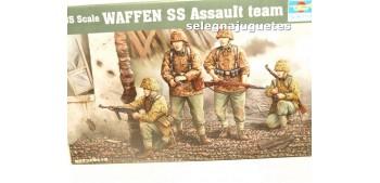 Waffen SS Asault team escala 1/35 Trumpeter