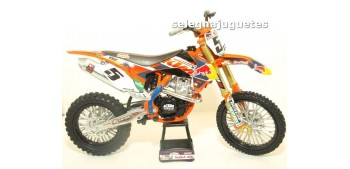 Ktm 450 SX-F Ryan Dungey escala 1/10 New Ray moto miniatura New Ray