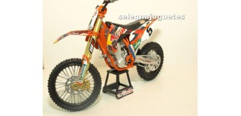Ktm 450 SX-F Ryan Dungey escala 1/10 New Ray moto miniatura