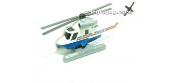 Helicoptero policía escala 1/72 Cararama sin caja coche miniatura metal