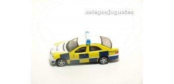 Mercedes Benz Clase C policía escala 1/72 Cararama sin caja coche miniatura metal