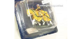 Condotiero Italiano Sigo XV a caballo Soldado Plomo 54 mm Del Prado