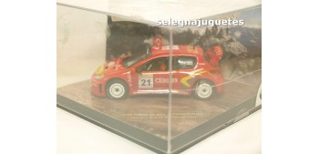 miniature car Peugeot 206 WRC Panizzi escala 1/43 Vitesse 43006