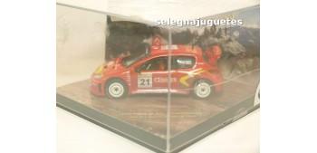 coche miniatura Peugeot 206 WRC Panizzi escala 1/43 Vitesse