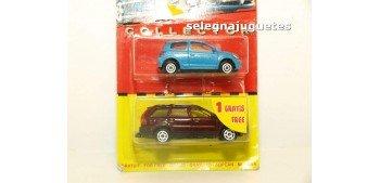 Volvo XC 90 escala 1/61 + Toyota Yaris escala 1/59 Majorette