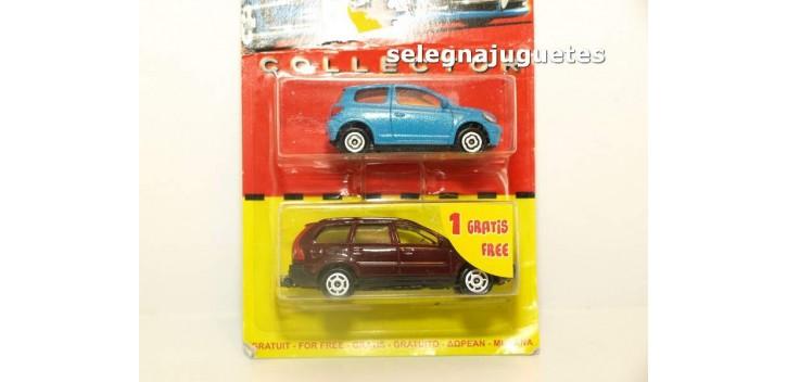 Volvo XC 90 escala 1/61 + Toyota Yaris escala 1/59 Majorette coche metal miniatura