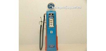 Surtidor Gasolina Ford redondo escala 1/18 Yat Ming maqueta