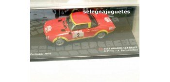 Fiat Abarh 124 Rally - Portugal 1974 - Pinto escala 1/43 Ixo