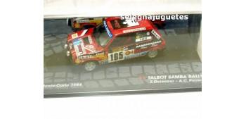 miniature car Talbot Samba Rallye - Montecarlo 1984 - Delecour