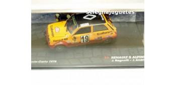 Renault 5 Alpine - Montecarlo 1978 - Ragnotti escala 1/43 Ixo