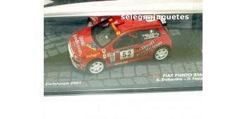 Fiat Punto S1600 - Cataluña 2001 - Dallavilla escala 1/43 Ixo