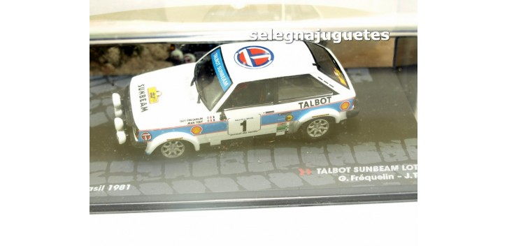 Talbot Sundeam Lotus - Brasil 1981 - Frequelin escala 1/43 Ixo