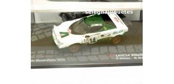 miniature car Lancia Stratos HF - Montecarlo 1975 - Munari