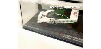 coche miniatura Lancia Stratos HF - Montecarlo 1975 - Munari
