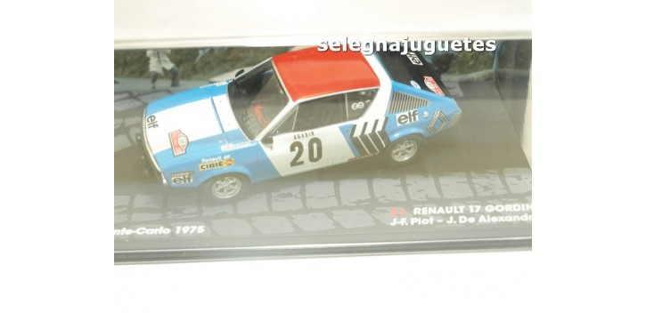 Renault 17 Gordini - Montecarlo 1975 - Piot escala 1/43 Ixo